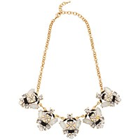 Adele Marie Crystal Bead Collar Necklace Multi