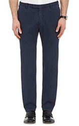 Boglioli Men's Pique Trousers Blue