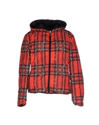 Sweet Years Coats And Jackets Jackets Women Red