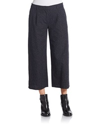 Eileen Fisher Cropped Denim Trousers