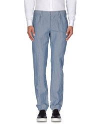 Incotex Red Trousers Casual Trousers Men Slate Blue