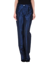 Diana Gallesi Casual Pants Dark Blue