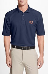 Men's Cutter And Buck 'Chicago Bears Genre' Drytec Moisture Wicking Polo Navy Blue