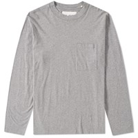 Our Legacy Long Sleeve Box Tee Brown