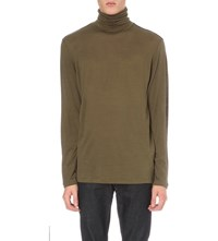 The Kooples Turtleneck Wool Top Cam