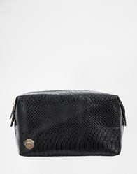 Mi Pac Mi Pac Black Python Make Up Bag
