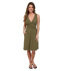 The North Face Heartwood Dress Burnt Olive Green Women's Dress