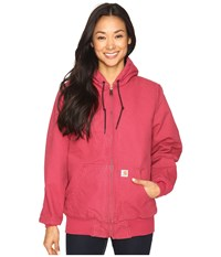 Carhartt Sandstone Active Jacket Camo Lined Crab Apple Women's Coat Pink