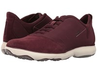 Geox U Nebula 17 Burgundy Men's Shoes