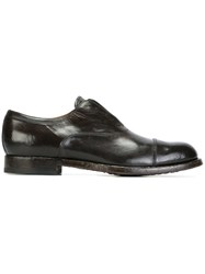 Officine Creative 'Tempus' Oxfords Black