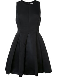 Halston Heritage Full Flared Dress Black