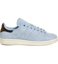Adidas Stan Smith Leather Trainers Sky Tortoise Shell