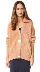 Edun Merino Wool Cardigan Rose