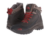 The North Face Chilkat Tech Coffee Brown Rosewood Red Men's Hiking Boots