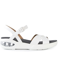 Marc By Marc Jacobs Strappy Air Sole Sandals White