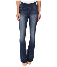 Jag Jeans Ella Pull On Flare Comfort Denim In Durango Wash Durango Wash Women's Blue