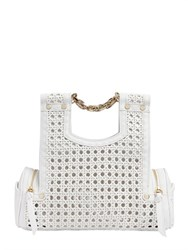 Corto Moltedo Priscillini Woven Leather Shoulder Bag