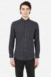 Patrik Ervell Cotton Stitchless Button Down Shirt Black