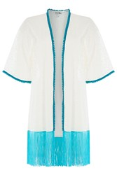 Paolita Fringed Lace Tunic Gr. S