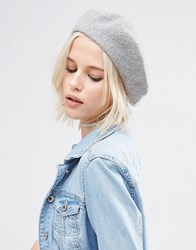 Asos Wool Beret Grey