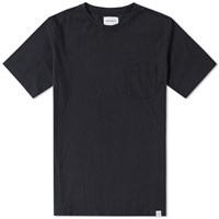 Norse Projects Niels Pocket Boucle Tee Black