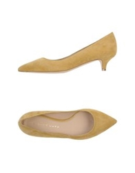 Martin Clay Pumps Ocher