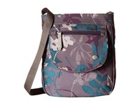 Haiku Jaunt Flower Fall Print Bags Purple