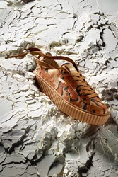 Fenty Puma By Rihanna The Creeper Camo Orange Orange Oatmea