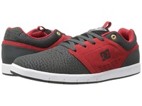 Dc Cole Signature Grey Red Men's Skate Shoes Multi