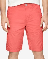 Calvin Klein Jeans Men's Revel Multi Stitch Shorts Spiced Coral