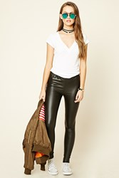 Forever 21 Faux Leather Leggings