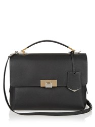Balenciaga Le Dix Soft Leather Shoulder Bag Black