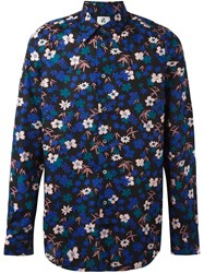 Paul Smith Ps By Floral Print Shirt