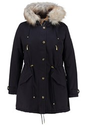 Jette Parka Navy Dark Blue