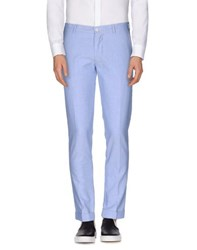 Berwich Trousers Casual Trousers Men Sky Blue