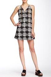 Porridge Sleeveless Printed Dress Black