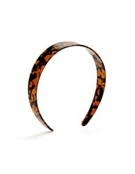 Robert Rose Tortoise Headband Brown