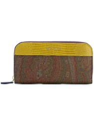 Etro 'Amebas' Paisley Purse Multicolour