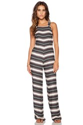 Motel Cross Me Jumpsuit Cream