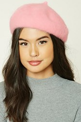 Forever 21 Fuzzy Knit Rabbit Hair Beret