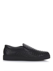Bottega Veneta Intrecciato Leather Trainers
