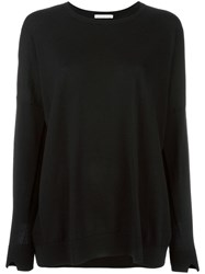 Stefano Mortari Round Neck Jumper Black