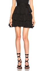 L'agence Victoria Skirt In Black