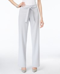 Alfani Prima Belted Wide Leg Pants Only At Macy's New City Silver
