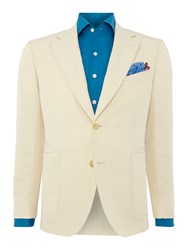 Chester Barrie Button Blazer Cream
