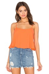 Eight Sixty Crop Top Orange