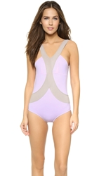 Vpl Uv Harness Swimsuit Lavendula