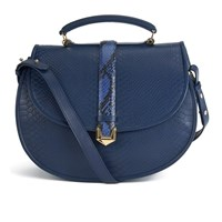 Matthew Williamson Women's Oversized Satchel Bag Navy