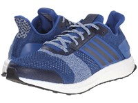 Adidas Ultra Boost St Eqt Blue Collegiate Navy Halo Blue Men's Running Shoes