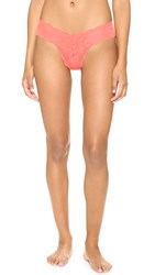 Cosabella Never Say Never Cutie Thong Neon Orange